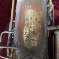 Buescher Alto Saxophone 56885 and Case